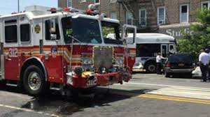 FDNY Truck Collides With MTA Bus In Queens; 14 Hurt | Abc7ny.com Bull Horns On Fdny 24 Fire Truck Duanco Mehdi Kdourli Brings Back Fifth Refighter To Engine Companies That Lost Mighty Fire Truck Shop Trucks Graveyard Queens New York City 46th Str Flickr Rcues Fire Truck Stuck In Sinkhole Inside The Fleet Repair Facility Keeping Nations Largest Backs Into Garage Editorial Photo Image Of Squad Fdnytruckscom Mhattan Blows Tire And Shatters Store Window Free Images Car New York Mhattan City Red Nyc Usa Code 3 Rescue Engine 5000 Pclick