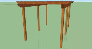 Floor Joist Span Table Deck by Pergola Joist Beam Sizing Help Decks U0026 Fencing Contractor Talk