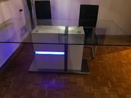 esstisch tisch designertisch glastisch esszimmer 2x1 m 200x100 cm