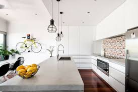 beton arbeitsplatte in der küche 20 trendige designs