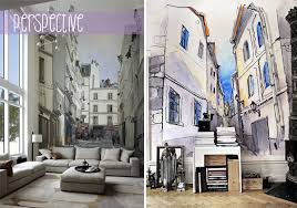how to optically enlarge a room using wall murals pixersize