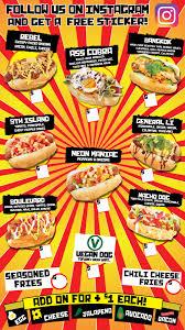 100 Hot Dog Food Truck Menu Dog Taco Lobster Las Vegas Dude Wheres My