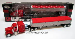 Semi Trucks: Toy Semi Trucks John Deere 116th Scale Big Farm Truck With Cattle Trailer 1 64 Ford Louisville L9000 Grain Scratch Custom Toy Wyatts Toys Trailers Rockin H Trucks Tonka Classic Steel Stake Wwwkotulascom Free 1950s 2 Listings 1975 Chevy C65 Tag Axle And 20 Grain Body Snt Custom 0050 Blue Ih 4300 Pulling A Wilson Pup