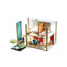 puppenhaus cubic djeco puppenhaus modernes puppenhaus