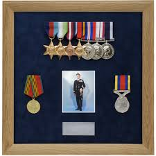Military Medal Display Frame Case Study Ryall