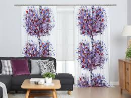 Aronia Plum Curtain Panel Apartment Pinterest