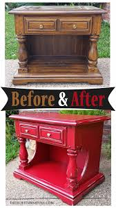 Chunky End Table In Distressed Barn Red - Before & After ... Why Yes Those Are Seats From The Old Red Barn Olympia Stadium 99 Best Decor Fniture Thats Fab Images On Pinterest Door Ding Table M Jones Creations Wood Ideas Crustpizza Nightstand In Mms Milk Paint Artissimo Shutter Gray Nice Score Of Local Robin Egg Painted Siding And Mooove Over For A Smokin Hot Night Stand Make Fniture Trellischicago Bar Stools Wrought Iron Vintage Industrial Unique Custom Made Rustic Bed With Live Edge And Beams Slab Find Out
