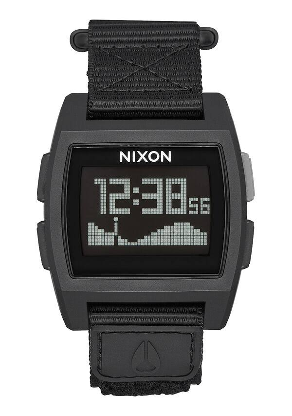 Nixon Base Tide Nylon Surf Watch - Women's - Black