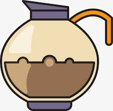 Vector Coffee Pot Kettle PNG And