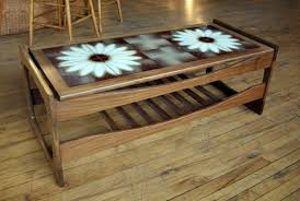 tile top coffee table salvage one