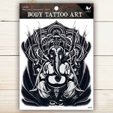Prescription Halloween Contacts Canada by Body Tattoo Sticker Waterproof Temporary Tattoo Rt04 Rt04