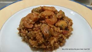 comment cuisiner des moules congel s risotto aux crevettes moules chorizo recettes cookeo