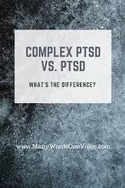 Complex PTSD Vs