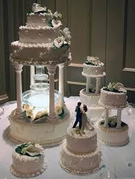 White Peacock Wedding Cake
