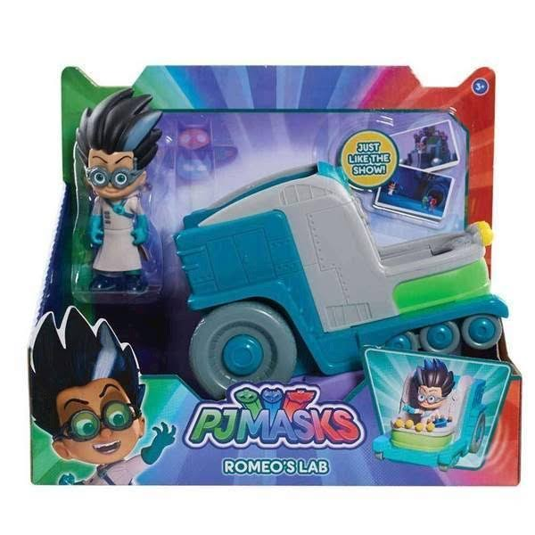 Disney Junior PJ Masks Romeo's Lab Vehicle & Figure