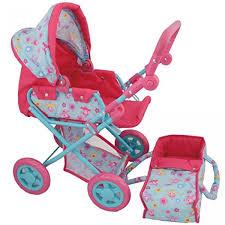 Dolls World Deluxe Pram Baby Carrier Argosy Toys