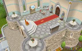 Sims Freeplay Second Floor Stairs by The Sims Freeplay The Castle The Who Games