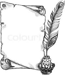 Image Result For Black And White Borders A4 Size Paper