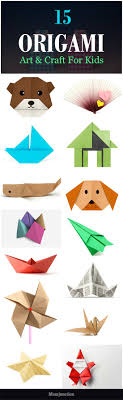 Top 15 Paper Folding Or Origami Art Craft For Kids Your Kid Can Enjoy This Activity Without The Extensive Use Of Glue And Scissors