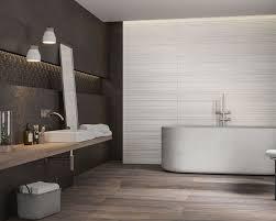 grau beige textur und holz in einem modernen badezimmer