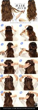 18 Half Up Down Hairstyle Tutorials Perfect For Prom