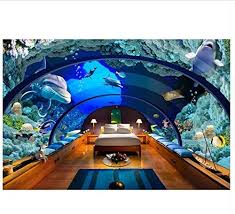 ayzr custom home decor wand papiere aquarium tapeten für