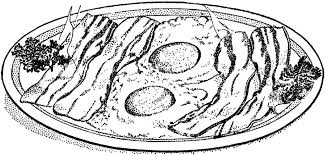 Bacon and Eggs Breakfast Image