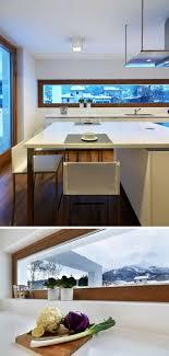 schmale fenster für die küche viel licht perfekte