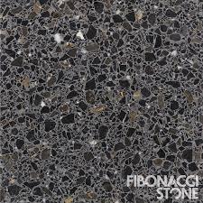 graphite terrazzo tiles from fibonacci the bold and