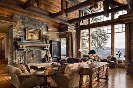 Valuable Design 15 Rustic Interior House Plans 17 Best Images About Living On Pinterest