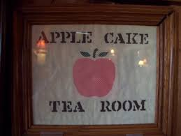 We were too full for dessert that includes to mention only two apple cake from which the tea room s its name and the cornucopia which is an elaborate