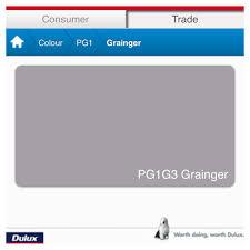 Dulux Grainger - Perfect Grey   For The Home   Paint Colors ...