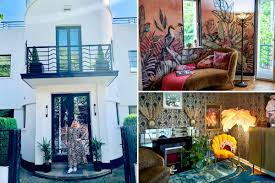 100 Dream Home Design Usa Bland Beige Mansion Is Transformed Into Flamboyant 1930s
