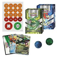 Pokemon Tcg Deck List Sheet by Pokemon Trading Card Game Battle Arena Deck Featuring Rayquaza