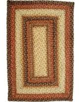 Homespice Decor Jute Rugs by Rectangle Jute Braided Red Area Rugs Bhg Com Shop