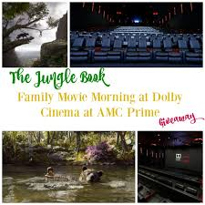 Experience The Jungle Book at Dolby Cinema at AMC Prime Giveaway