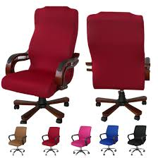 US $7.46 15% OFF|Seat Slipcovers Office Chair Covers For Computer Chair  L/M/S Removable Stretch Rotating Lift Chair Covers (not Including Chair)-in  ... Leather Office Chair Cover Beandsonsco View Photos Of Executive Office Chair Slipcovers Showing 15 Melaluxe Cover Universal Stretch Desk Computer Size L Saan Bibili Help Gloves Shihualinetm Cloth Pads Removable Gallery 12 20 Size Washable Arm Slipcover Rotating Lift Covers Chairs Without Arms Ikea Ding Room Slipcover Eleoption Seat High Back Large For Swivel Boss Lms C Best With Lumbar Support Small