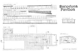 100 Barcelona Pavilion Elevation Wong Zi Xiu Degree EPortfolio Design Communication