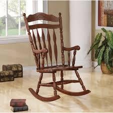 100 Rocking Chair With Books Shop Traditional Nostalgia Arrow Back Walnut Free