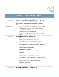 collection of solutions volunteer resume sles in church