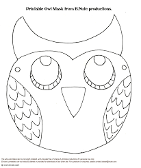 Owl Pumpkin Template Printable by Halloween Masks Printable U2013 Festival Collections