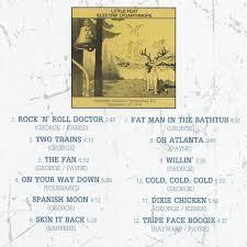 cd album little feat electrif lycanthrope smokin bootleg
