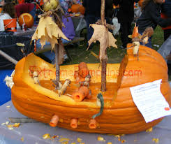 Pumpkin Contest Winners 2013 by The Pirate Ship Pumpkin
