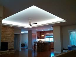 indirect lighting modern living room cedar rapids by