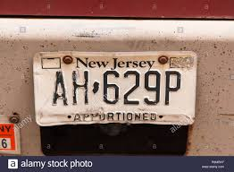 100 Truck Licence New Jersey Truck Licence Plate New York City United States Of