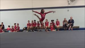 level 4 floor routine 10 08 2017 first place youtube
