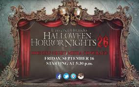 Halloween Horror Nights Auditions 2017 by Let The Horror Begin At Hhn26 Horror Night Nightmares