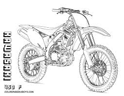 Dirty Dirt Bike Coloring For Pages Kids Get Yer Crayons Top 10 Motorbike Fun Printouts Of FMX Tricks Honda