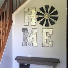 24 Inch Full Windmill Head Wall Decor Rustic By MudDauberMtg Living Room
