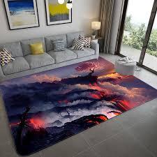 3d galaxy raum sterne teppiche wohnzimmer dekoration schlafzimmer tisch bereich teppich matte weiche flanell große teppich und teppich